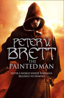 The cover art for Peter V. Brett's The Painted Man.