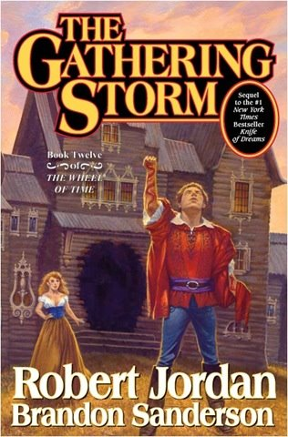 Gathering Storm by Robert Jordan and Brandon Sanderson cover art