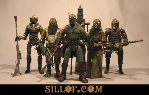 Steampunk Star Wars   Bounty Hunters