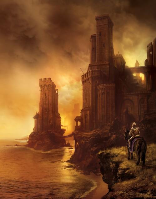 Greyjoy's Castle by Marc Simonetti