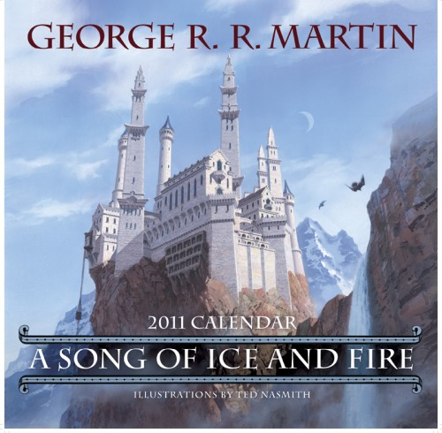 The cover of the 2011 A Song of Ice and Fire calendar