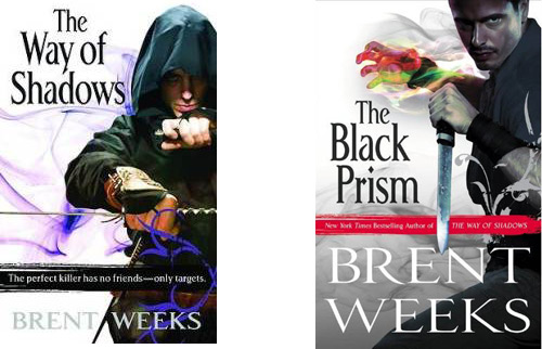 A comparison of Brent Weeks covers