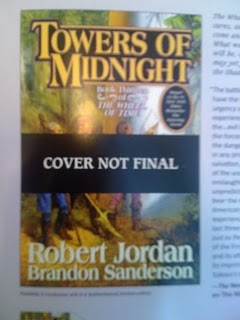 An early look at Towers of Midnight by Robert Jordan and Brandon Sanderson