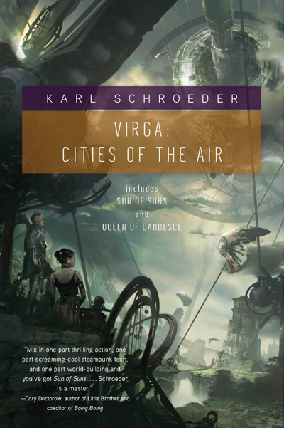 Virga: Cities of the Sun by Karl Schroeder