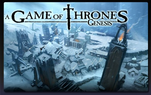 Artwork and Logo for A Game of Thrones: Genesis