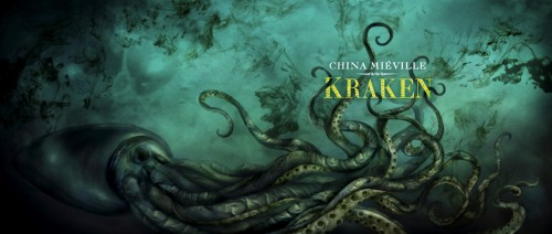 Vincent Chong artwork for Kraken by China Mieville