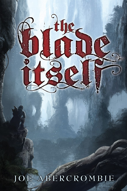 Cover Art for the limited edition of The Blade Itself by Joe Abercrombie