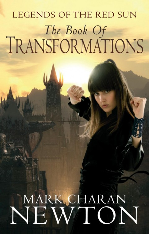 'The Book of Transformations' by Mark Charan Newton