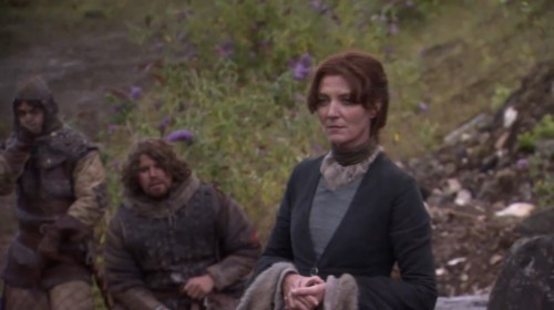 Catelyn Stark from HBO's A GAME OF THRONES TV show