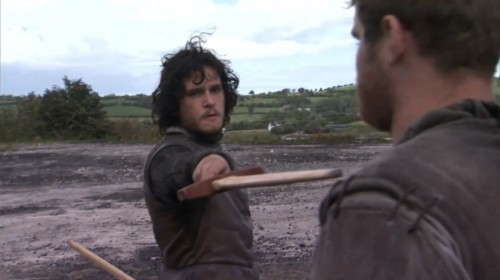 Jon Snow from HBO's A GAME OF THRONES TV show