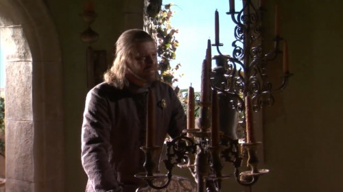 Ned Stark from HBO's A GAME OF THRONES TV show