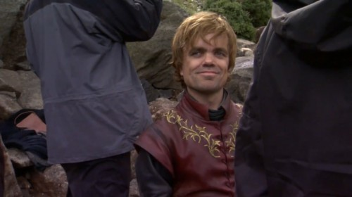 Tyrion Lannister  from HBO's A GAME OF THRONES TV show