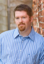 Brent Weeks, author of THE BLACK PRISM – Photo by Travis Johnson Photography