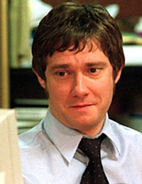 Martin Freeman, officially cast as Bilbo Baggins