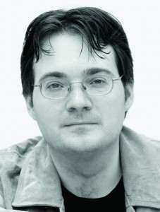Brandon Sanderson, author of TOWERS OF MIDNIGHT and THE WAY OF KINGS