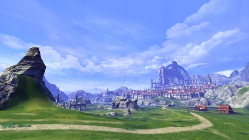 Screenshot of TERA, taken by NeoGAF user TheOctagon