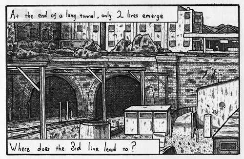 China Mieville's web comic: LONDON INTRUSION