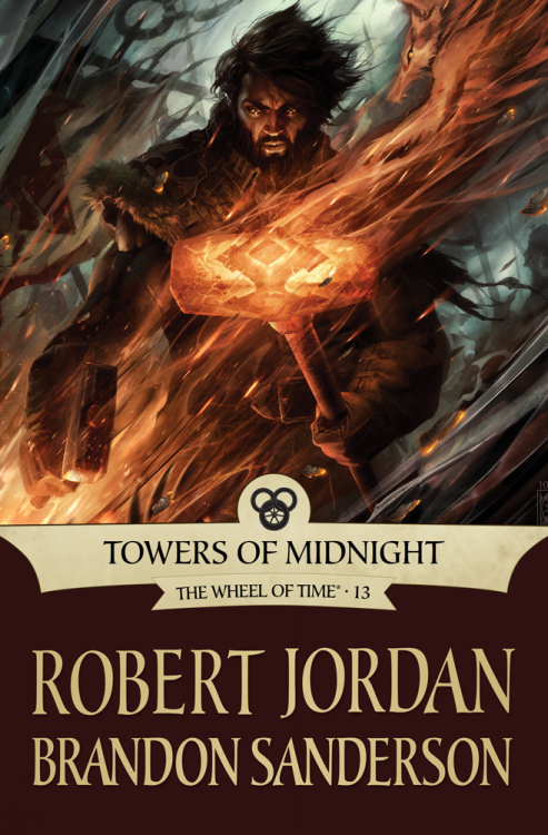 TOWERS OF MIDNIGHT by Robert Jordan and Brandon Sanderson (eBook)