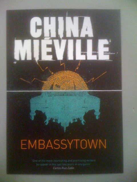 Brand new covers for China Mieville