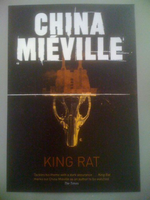 New covers for all of China Mieville's novels - King Rat