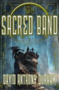 THE SACRED BAND by David Anthony Durham