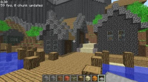 Wander Tad Williams' SHADOWMARCH castle in Minecraft