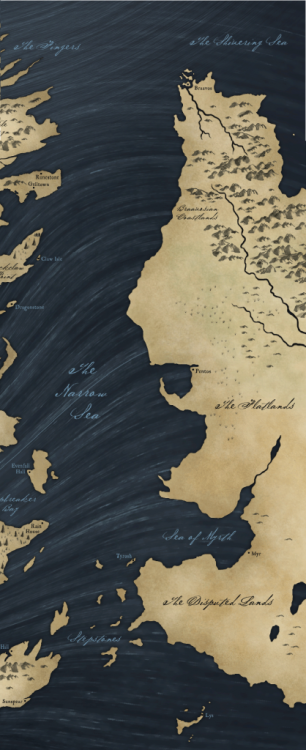 The Free Cities from George R.R. Martin's A SONG OF ICE AND FIRE