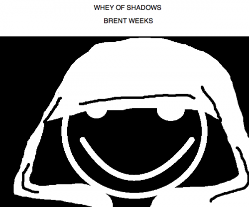 Whey of Shadows by Brent Weeks