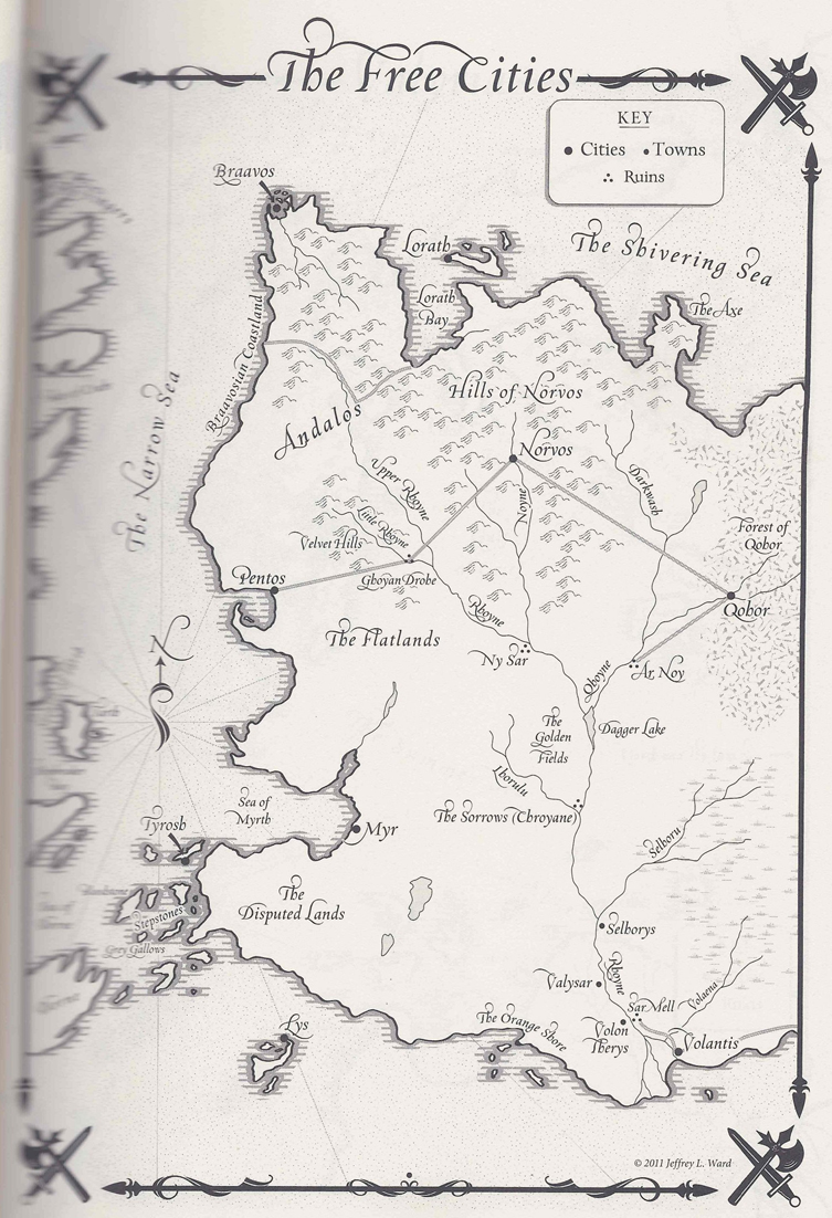 Image Result For Detailed Map Game Of Thrones