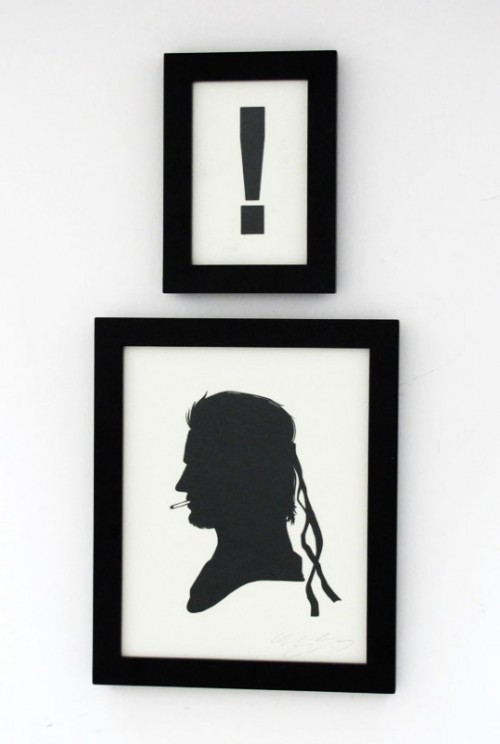 Papercut Silhouettes by Olly Moss
