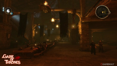 Screens from the A GAME OF THRONES videogame