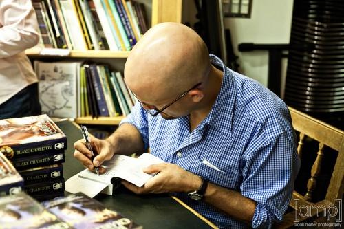 Blake Charlton, author of SPELLBOUND