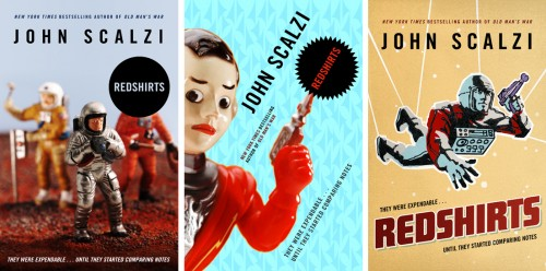 REDSHIRTS by John Scalzi -- Alternate Covers