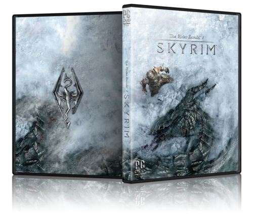 Skyrim Cover Art