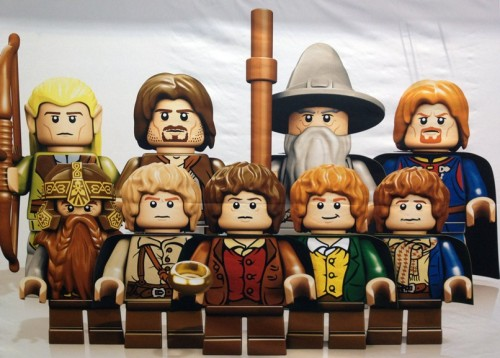LORD OF THE RINGS-themed Lego