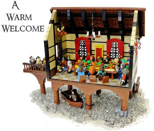 THE HOBBIT, in Lego form, by Blake's Baericks