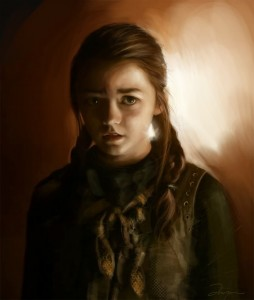 Game of Thrones, Arya by Anja Em