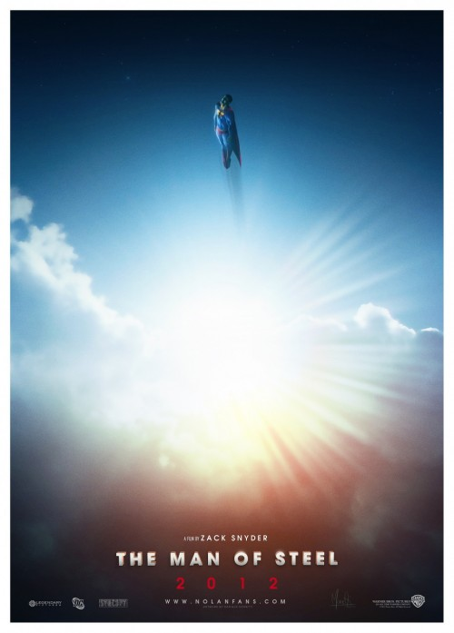 Fanmade posters for SUPERMAN: MAN OF STEEL