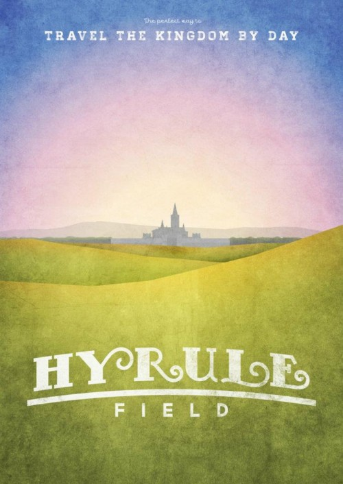 Travel to Hyrule Field