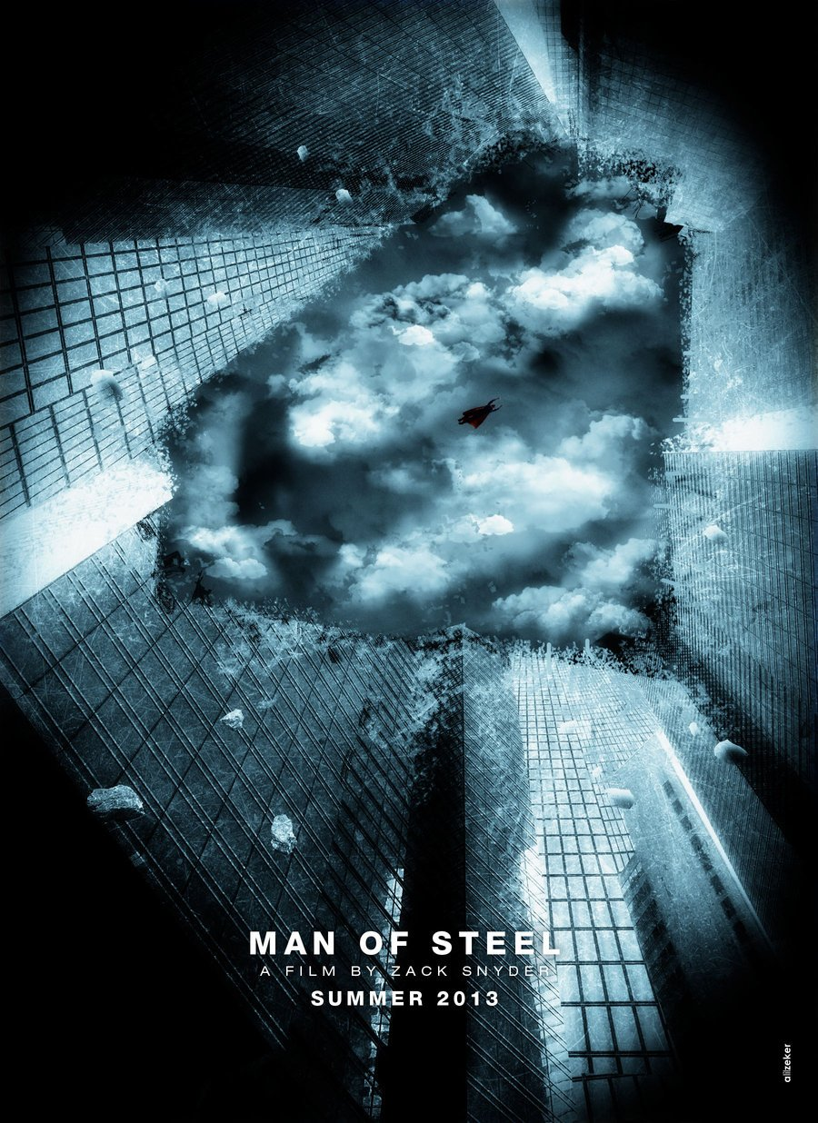 art awesome fanmade posters for superman man of steel