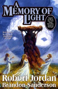 Cover Art for A MEMORY OF LIGHT by Robert Jordan and Brandon Sanderson, mocked up by Aidan Moher