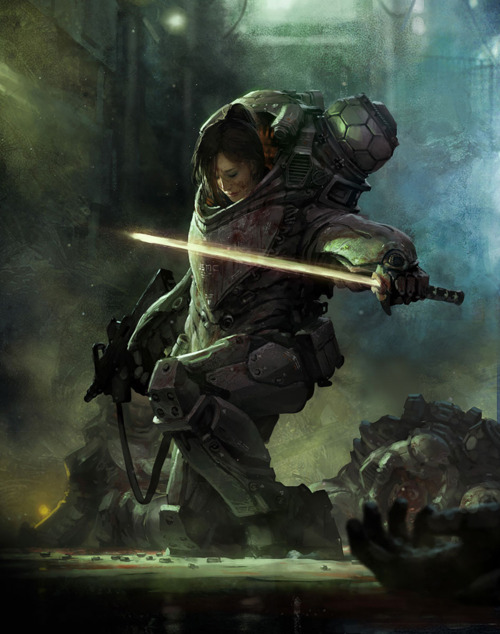 Art by Marek Okon
