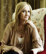 J.K. Rowling, author of THE CASUAL VACANCY