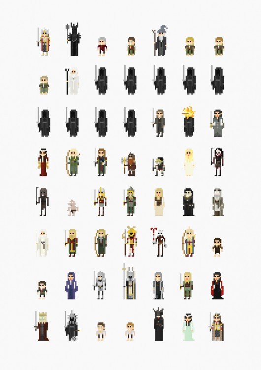 8-bit-lord-of-the-rings