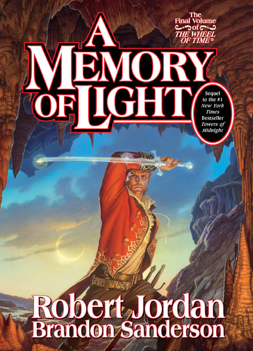 A Memory of Light by Robert Jordan and Brandon Sanderson, art by Michael Whelan