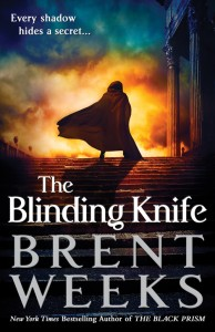 Cover Art for The Blinding Knife by Brent Weeks