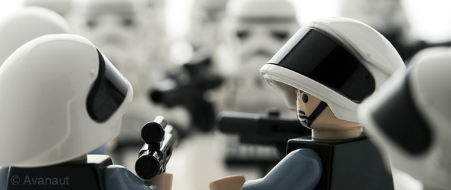 Lego Star Wars, photos by Vesa Lehtimäki