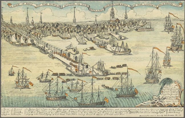 Boston in 1768