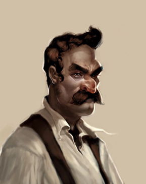 Mario Portraits by Anthony Jones