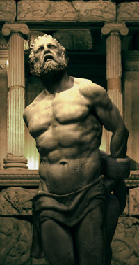 Prometheus, photograph by Scott Eaton